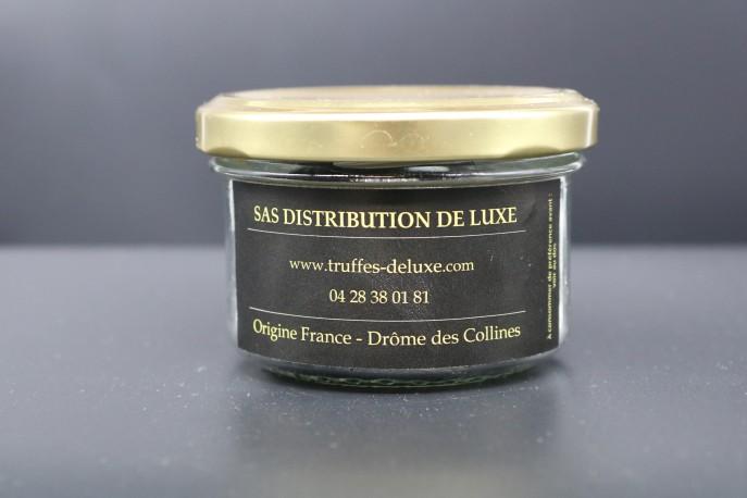 Verrine de truffes Melanosporum morceau dos