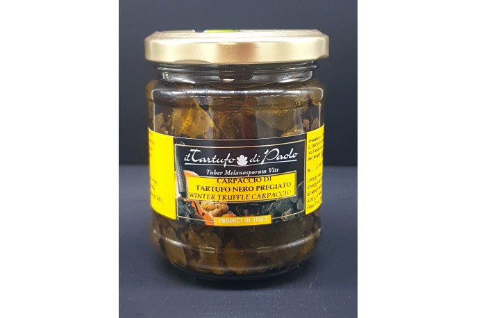 Carpaccio de truffe noir